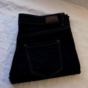 GARAGE High Waist Jegging Womens, Dark Blue, sz 9